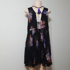 NEW! FREE PEOPLE FLORAL PRINT DESIGNER DRESS!
